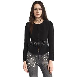 Textil Ženy Saka / Blejzry Gaudi 821FD35004 Černá