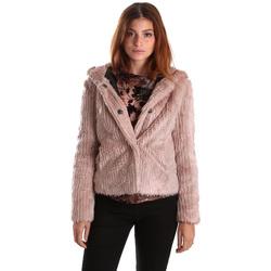 Textil Ženy Bundy Gaudi 821FD39003 Růžový