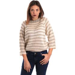 Textil Ženy Svetry Gaudi 821FD53040 Béžový
