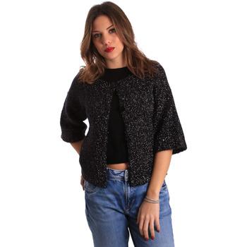 Textil Ženy Svetry / Svetry se zapínáním Gaudi 821FD53044 Černá