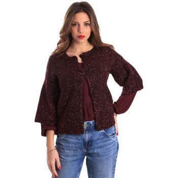 Textil Ženy Svetry / Svetry se zapínáním Gaudi 821FD53044 Červené