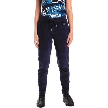 Textil Ženy Teplákové kalhoty Emporio Armani EA7 6ZTP87 TJN9Z Modrý