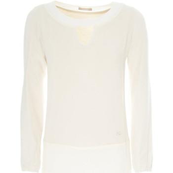 Textil Ženy Svetry NeroGiardini A862370D Bílý