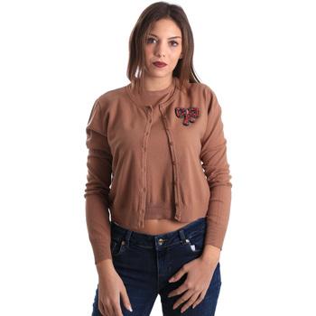 Textil Ženy Svetry / Svetry se zapínáním Denny Rose 821DD50100 Béžový