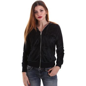 Textil Ženy Mikiny Key Up 5CS57 0001 Černá