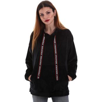 Textil Ženy Mikiny Key Up 5CS91 0001 Černá