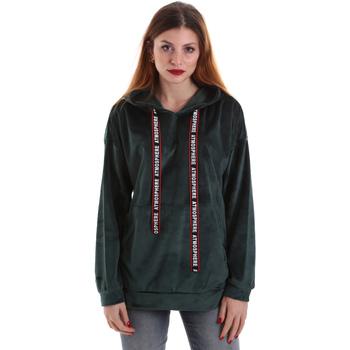 Textil Ženy Mikiny Key Up 5CS91 0001 Zelený