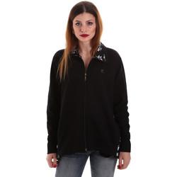 Textil Ženy Mikiny Key Up 5FI46 0001 Černá