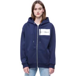 Textil Ženy Mikiny Calvin Klein Jeans J20J207832 Modrý