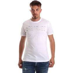 Textil Muži Trička s krátkým rukávem Navigare NV31081 Bílý