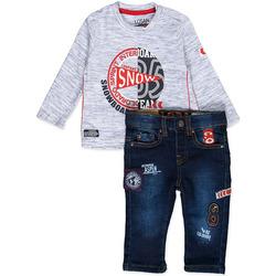 Textil Chlapecké Set Losan 827-8013AC Modrý