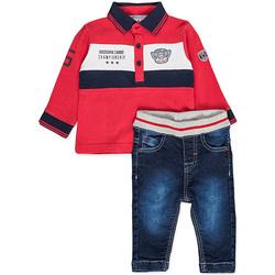 Textil Chlapecké Set Losan 827-8032AC Červené