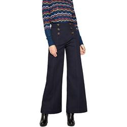 Textil Ženy Turecké kalhoty / Harémky Pepe jeans PL211327 Modrý