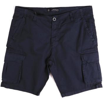 Textil Muži Kraťasy / Bermudy Key Up 2P16A 0001 Modrý