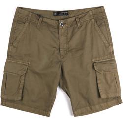 Textil Muži Kraťasy / Bermudy Key Up 2P16A 0001 Zelený