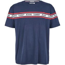 Textil Muži Trička s krátkým rukávem Tommy Hilfiger DM0DM05559 Modrý