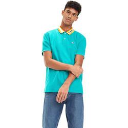 Textil Muži Polo s krátkými rukávy Tommy Hilfiger DM0DM06022 Modrý