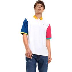 Textil Muži Polo s krátkými rukávy Tommy Hilfiger DM0DM06024 Bílý