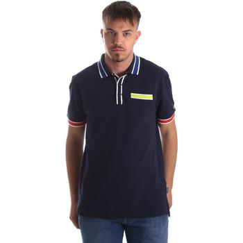 Textil Muži Polo s krátkými rukávy Tommy Hilfiger DM0DM06029 Modrý