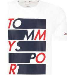 Textil Muži Trička s krátkým rukávem Tommy Hilfiger S20S200052 Bílý