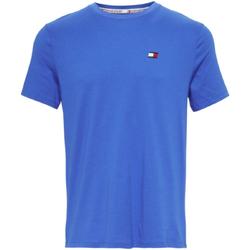 Textil Muži Trička s krátkým rukávem Tommy Hilfiger S20S200074 Modrý