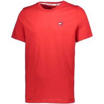 Textil Muži Trička s krátkým rukávem Tommy Hilfiger S20S200074 Červené