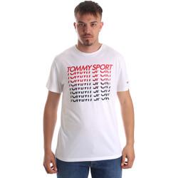 Textil Muži Trička s krátkým rukávem Tommy Hilfiger S20S200095 Bílý