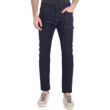 Textil Muži Rifle slim Calvin Klein Jeans K10K102969 Modrý