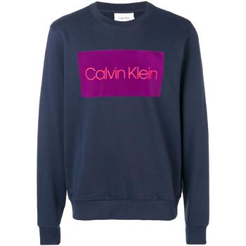 Textil Muži Mikiny Calvin Klein Jeans K10K102973 Modrý
