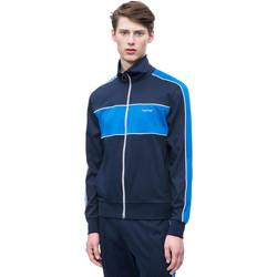 Textil Muži Teplákové bundy Calvin Klein Jeans K10K102975 Modrý