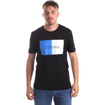 Textil Muži Trička s krátkým rukávem Calvin Klein Jeans K10K103497 Černá