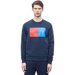 Textil Muži Mikiny Calvin Klein Jeans K10K103498 Modrý