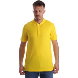 Textil Muži Polo s krátkými rukávy Calvin Klein Jeans K10K102758 Žlutá