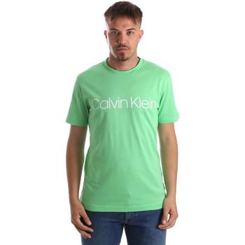 Textil Muži Trička s krátkým rukávem Calvin Klein Jeans K10K103078 Zelený