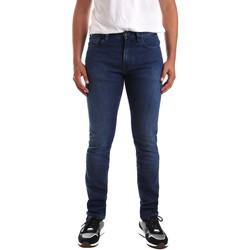Textil Muži Rifle skinny Calvin Klein Jeans K10K103319 Modrý