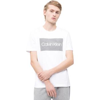 Textil Muži Trička s krátkým rukávem Calvin Klein Jeans K10K103654 Bílý