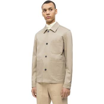 Textil Muži Saka / Blejzry Calvin Klein Jeans K10K103719 Béžový
