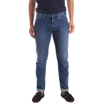 Textil Muži Rifle slim Calvin Klein Jeans K10K103815 Modrý