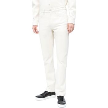 Textil Muži Rifle slim Calvin Klein Jeans J30J310380 Bílý