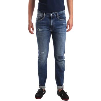 Textil Muži Rifle slim Calvin Klein Jeans J30J311691 Modrý
