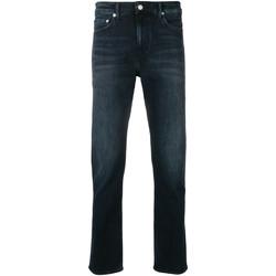 Textil Muži Rifle slim Calvin Klein Jeans J30J311732 Modrý