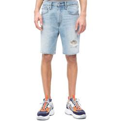 Textil Muži Kraťasy / Bermudy Calvin Klein Jeans J30J310950 Modrý