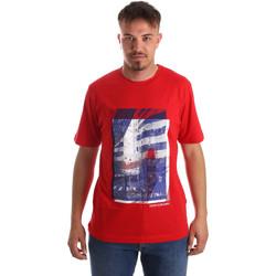 Textil Muži Trička s krátkým rukávem Calvin Klein Jeans J30J312285 Červené