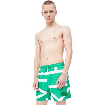 Textil Muži Plavky / Kraťasy Calvin Klein Jeans KM0KM00274 Zelený