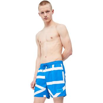 Textil Muži Plavky / Kraťasy Calvin Klein Jeans KM0KM00274 Modrý