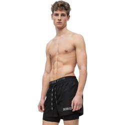 Textil Muži Plavky / Kraťasy Calvin Klein Jeans KM0KM00298 Černá