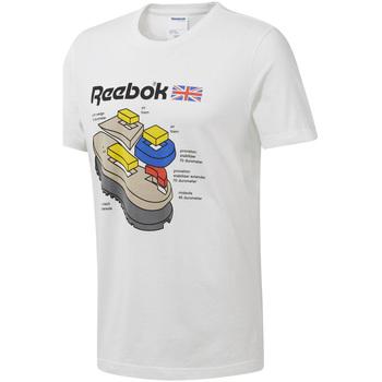 Textil Muži Trička s krátkým rukávem Reebok Sport DT8122 Bílý