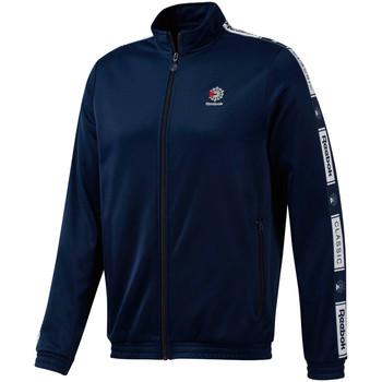 Textil Muži Teplákové bundy Reebok Sport DT8148 Modrý