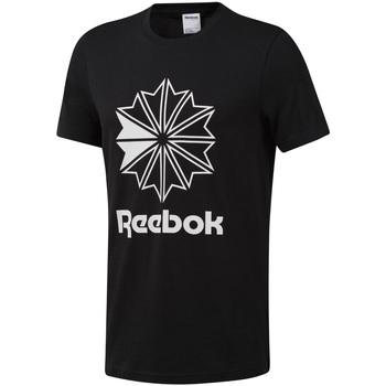 Textil Muži Trička s krátkým rukávem Reebok Sport DT8171 Černá