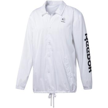 Textil Muži Teplákové bundy Reebok Sport DT8203 Bílý